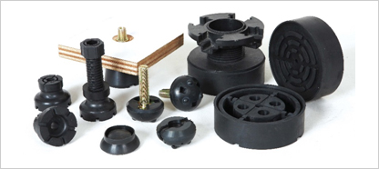 Damping rubber mounts & covers (DR)