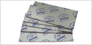Point damping sheet